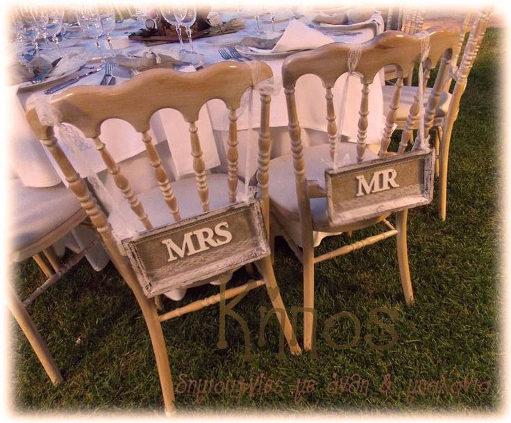 chair bride groom mr mrs