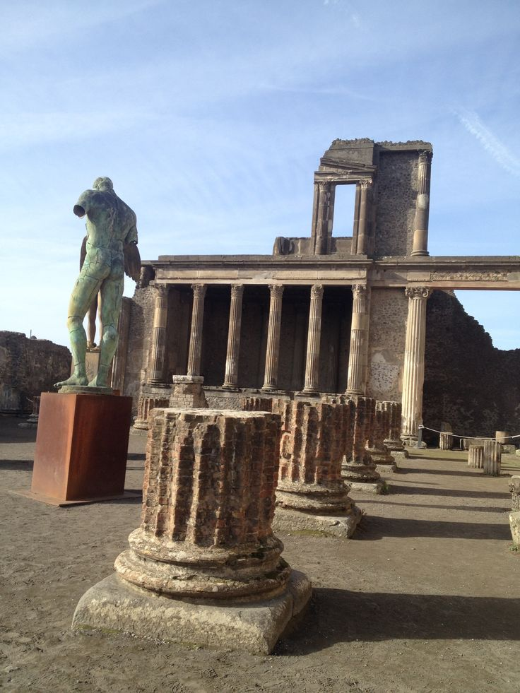 Basilica Pompeii was the most important public building of the city where justice was administered.