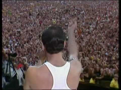 Queen - Radio GaGa  - Live Aid : Wembley London 1985 youtube:ihowell67 - twitter:@ihowell67