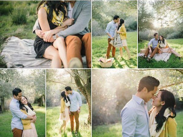 Пикник для двух влюбленных