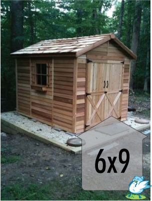 Cedarshed | Rancher 6x9 Shed R69CS | On Sale Now