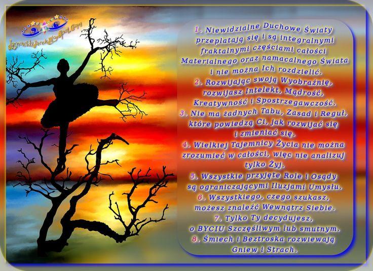 Wyobraźnia i Mądrość w Tobie www.JasnowidzJacek.blogspot.com