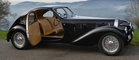 1938 Bugatti Type 57 By Guillore of Paris.