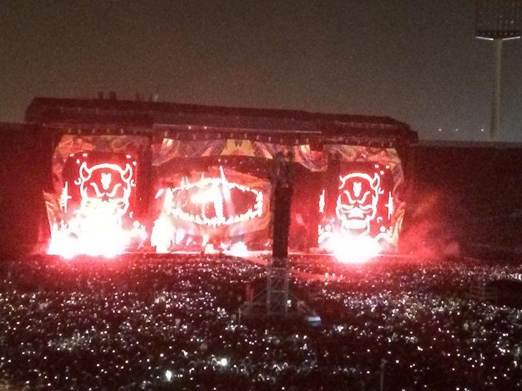Rolling Stones - Estadio Nacional - Santiago - Chile