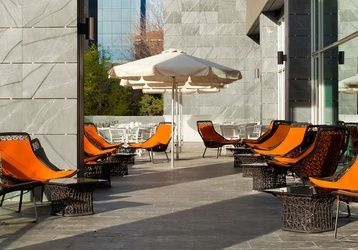 Ven a disfrutar de nuestra #terraza en Madrid ¡Perfecta para desconectar!  http://www.ilunionatrium.com/