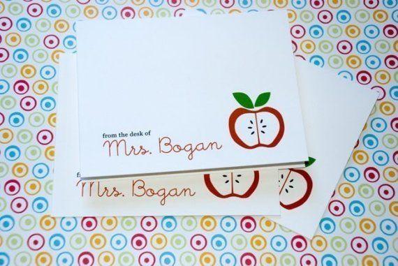 More teacher cards.