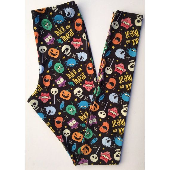 Hey, I found this really awesome Etsy listing at https://www.etsy.com/listing/483937333/trick-or-treat-womens-leggings
