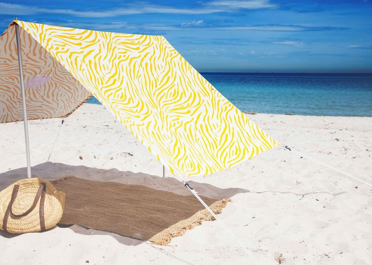 Lovin' Summer beach tents for beach lovers essential for your summer adventures. Dreamy and stylish beach tents easily erected by one person in minutes. Providing shade for the family with great airflow, unlike pop up tents. Everything included in a lightweight carry bag weighing under 4 kg.
