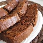 Chocolate Banana Bread Recipe: Perfect for old bananas. I used flaxmeal and whole wheat flour for part of the white flour and Greek yogurt instead of sour cream. Turned out great.