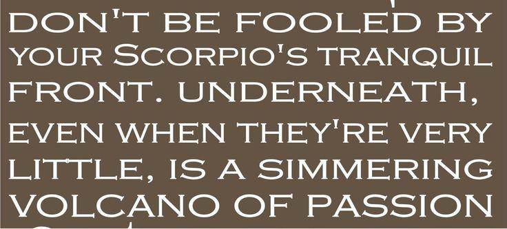 scorpio men quotes - Google Search