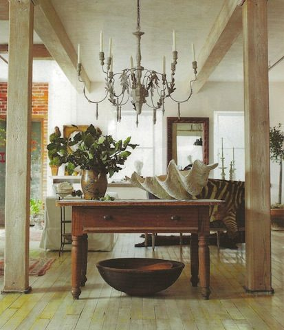 Brick And Beam Meets French Country, From New England Home Magazine
