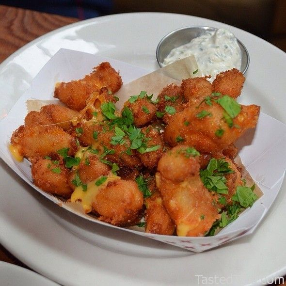 Fried Wisconsin Cheese Curds..the best....squeaky cheese..