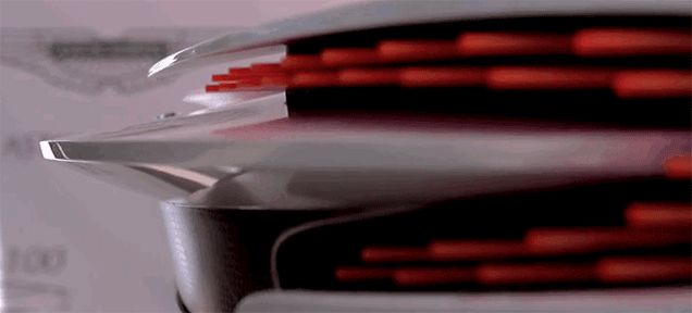 Aston Martin Has To Make These Deconstructed LED Tail Lights Happen