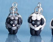 Sheep Stitch Markers (flock of 4). $18.00, via Etsy.