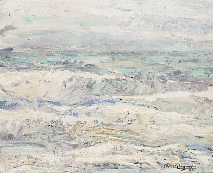 North Sea - Oil on woud - 50x60 cm
