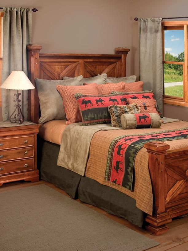 Cascade Bedding Set. $582. Lodge Bedding And Rustic Bedding Sets Are A  Great Way