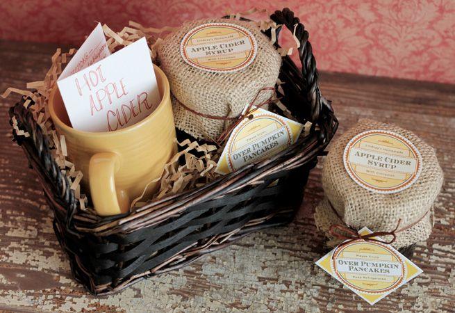 Pin by kira brandt on gift ideas pinterest for Homemade baked goods gift basket ideas