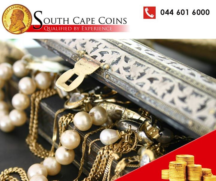 South Cape Coins also buys and appraises gold jewellery. Bring your collection today and have it appraised. #investments #rarecoins #newyear