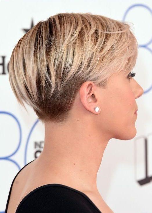 Frisur leichter undercut