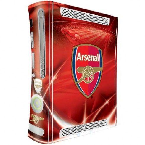 Arsenal F.C. Xbox 360 Console Skin