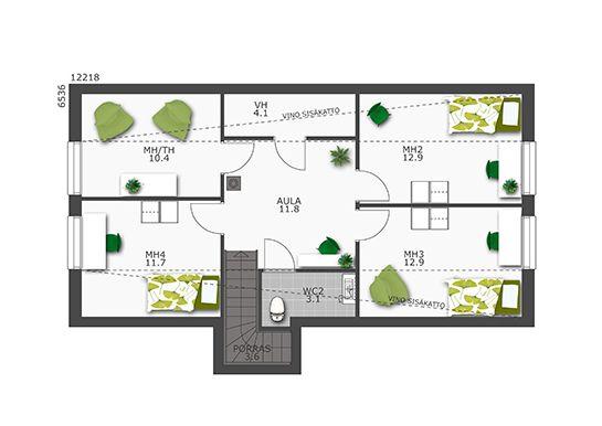 196 Moderni Käpylä — DesignTalo