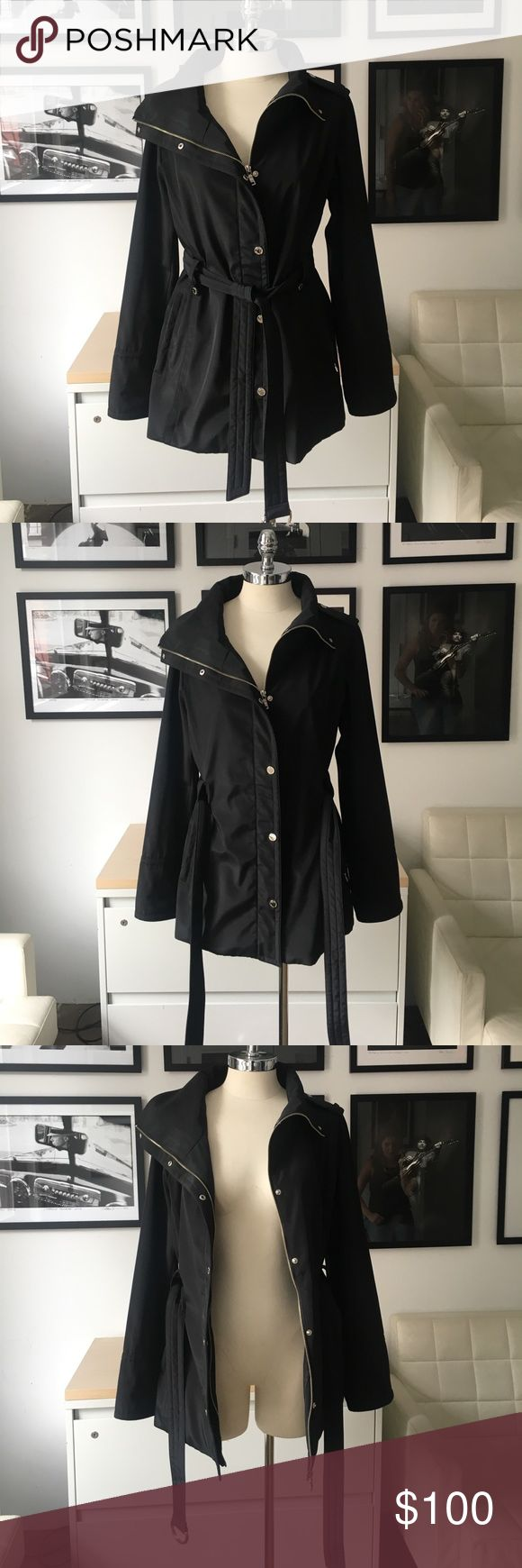Brand new Andrew Marc waterproof raincoat Brand new Andrew Marc - MARC NEW YORK waterproof raincoat. Originally purchased from Nordstrom. Perfect for the spring and summer. Can also be used as a windbreaker. It's comfortable and fits great! Andrew Marc Jackets & Coats