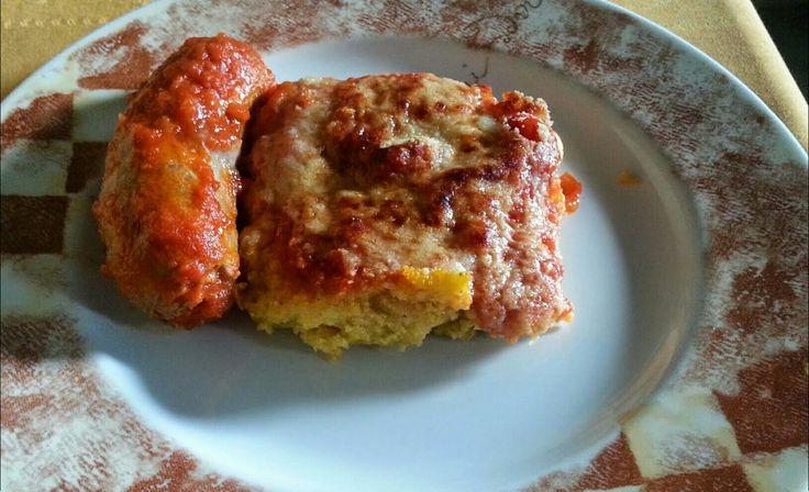 """Ricetta """"polenta con sugo all'abruzzese"""""""