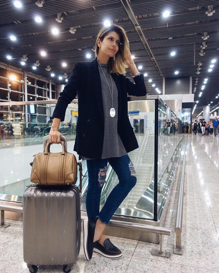 Embarco hoje para minha sétima semana de moda internacional Rumo à Londres com o time power da @fhits! #fhitslondon #aerolook