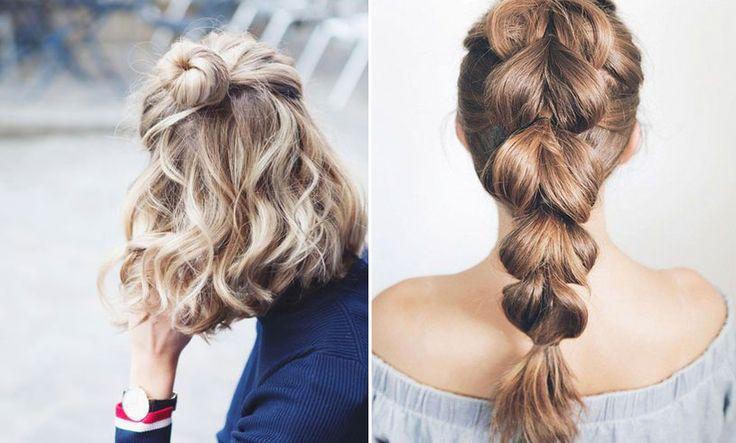 6 snabba frisyrer perfekta för lata dagar