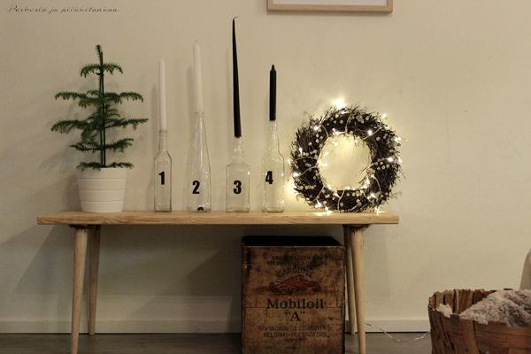 Xmas decoration, advent candles
