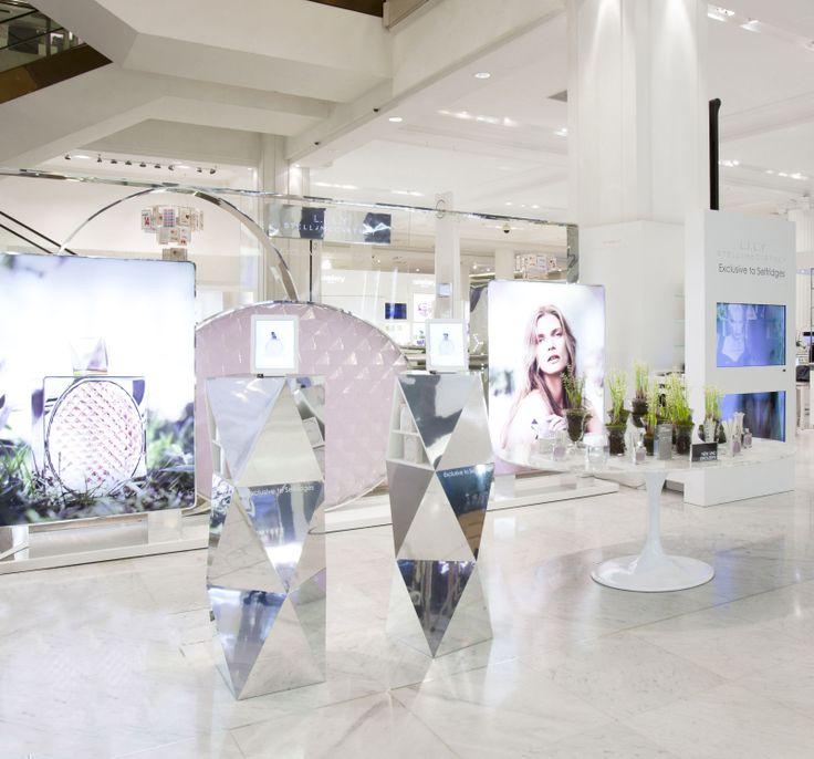 Stella McCartney Fragrance Display by Elemental Design.