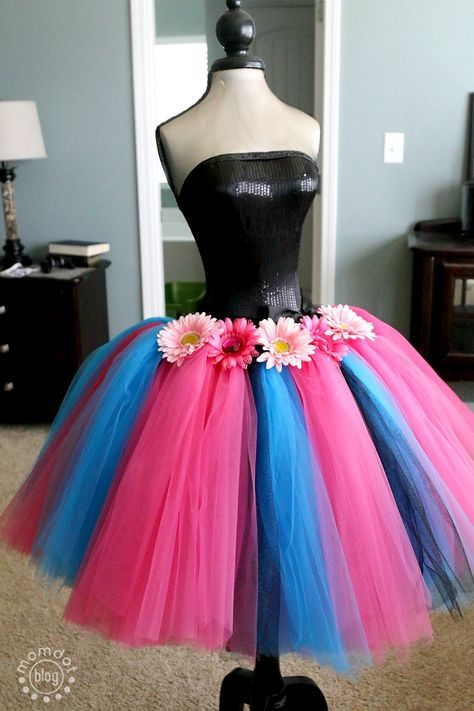 How to make a no sew tutu very full and beautiful, perfect for Dress up and Halloween