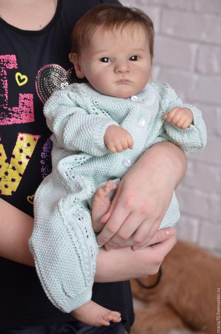 Купить Кукла реборн Грейсон - комбинированный, кукла ручной работы, кукла в подарок, кукла