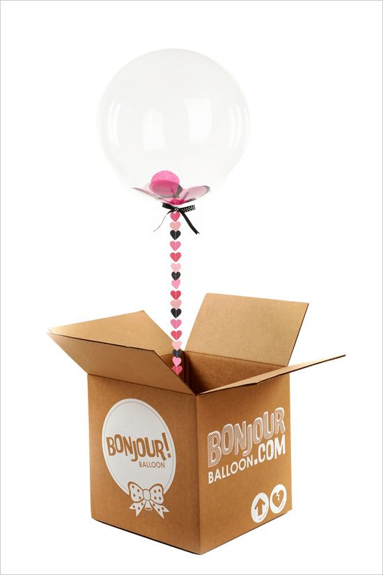 i'm pretty sure that a festive balloon arriving at my doorstep would make my day