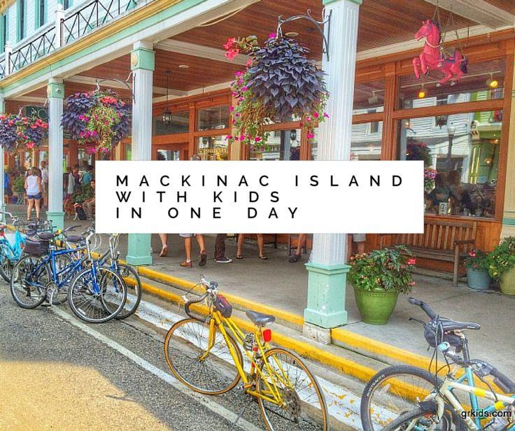 Day on Mackinac Island with Kids