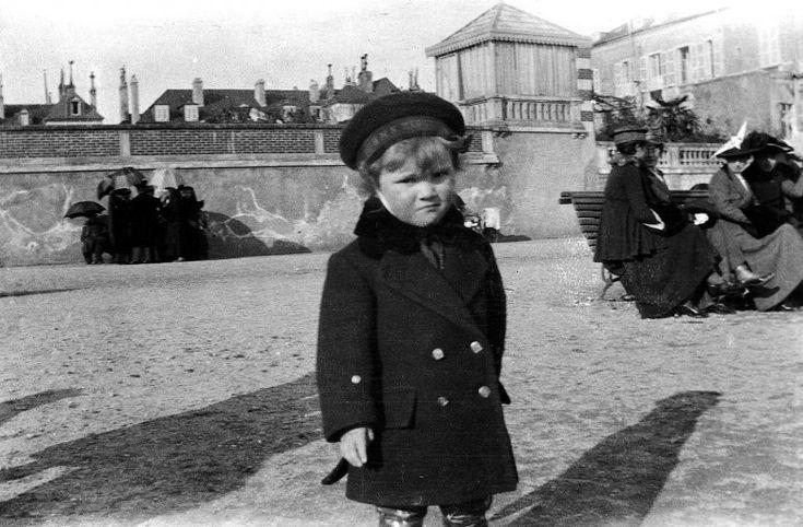 Portraits 1910 - les enfants — Le chronoscaphe
