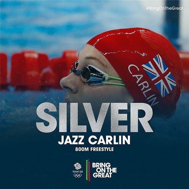 Jazz Carlin | 800M Freestyle | Swimming