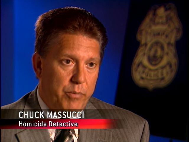 Chuck Massucci, homicide detective | Forensic Files: Muffled Cries (TV episode 2007) | Tags: #screencaps, forensic science, forensic evidence