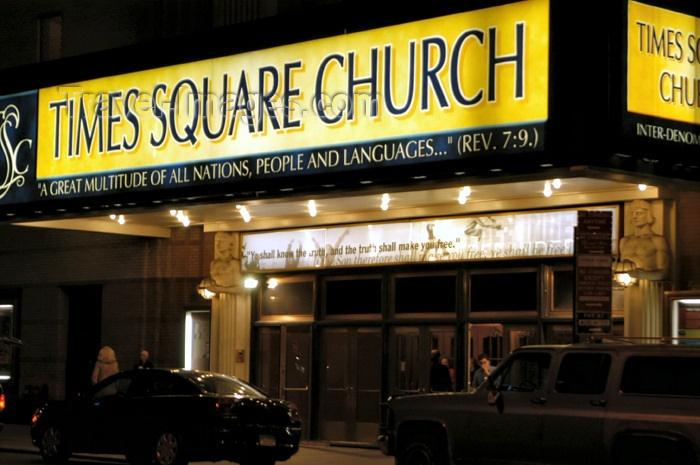 Times Square Church | New york city manhattan, Ny visit, Times square