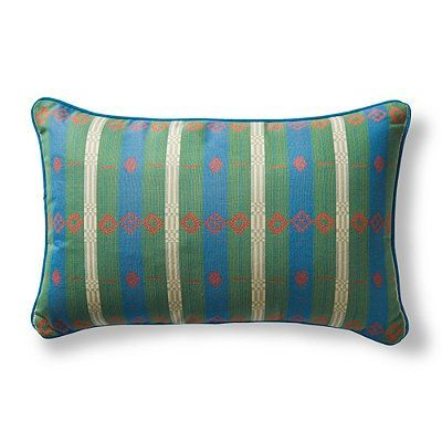 Peruvian Path Tropical Outdoor Pillow - Frontgate