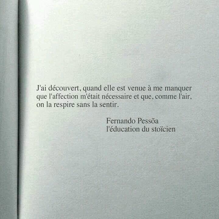 """Fernando Pessõa """"L'Éducation du stoïcien"""""""