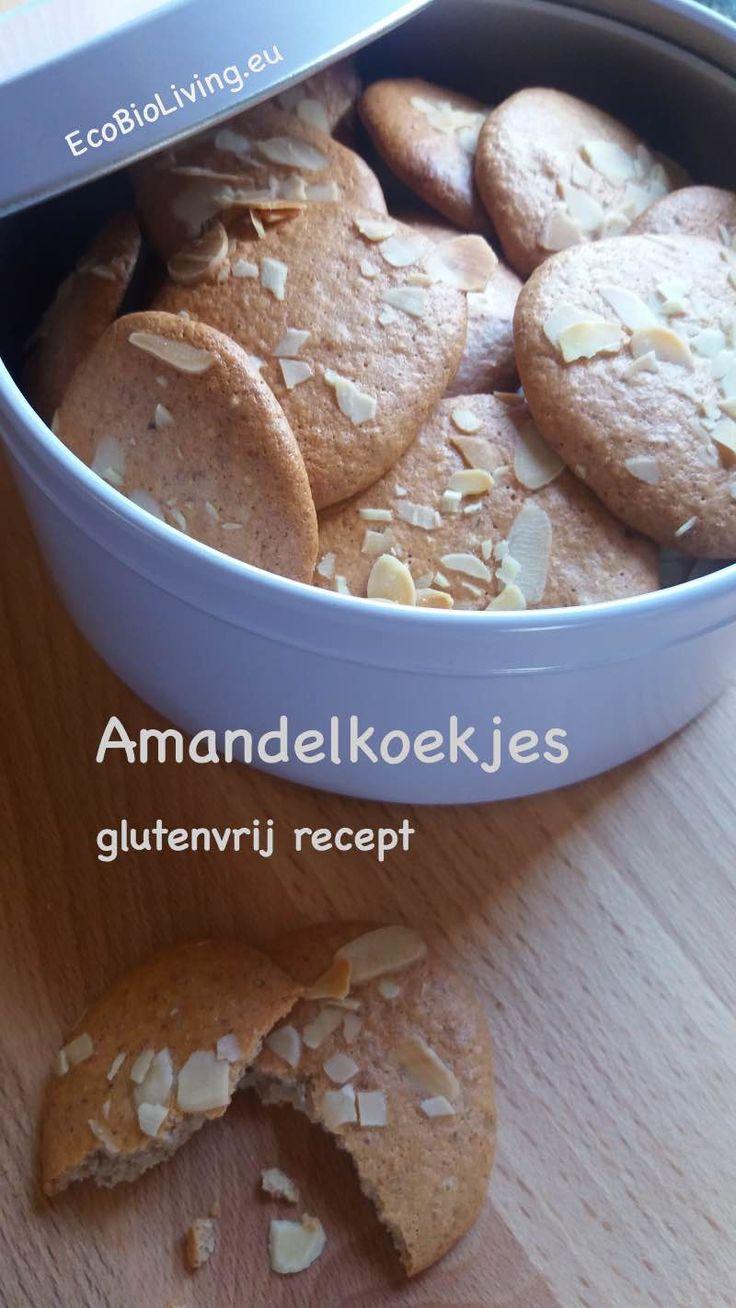 Amandelkoekjes - lekker glutenvrij recept • EcoBioLiving