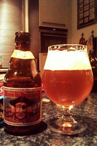 Nice golden ale from du boucanier