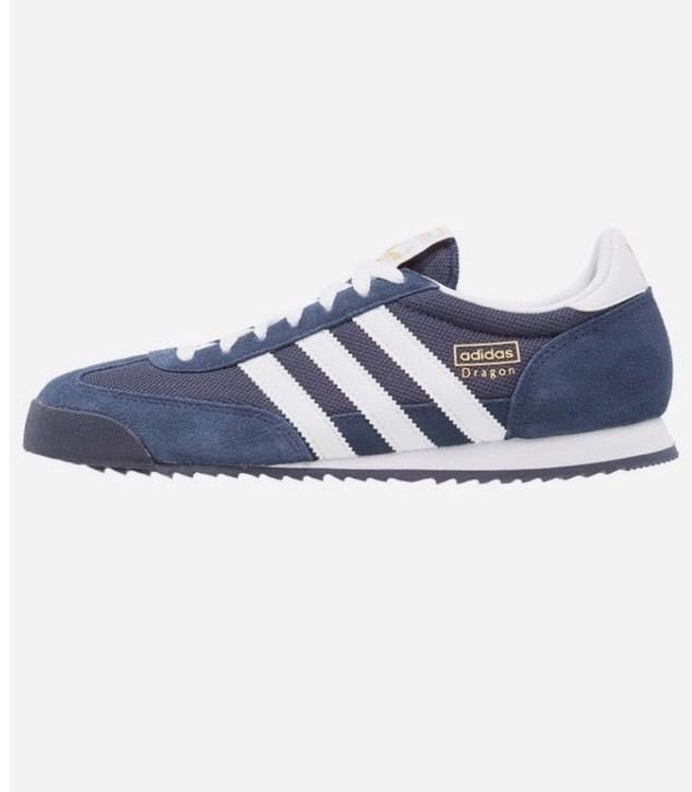 adidas Originals adidas Dragon Trainers in Navy & White Brand New Boxed G50919