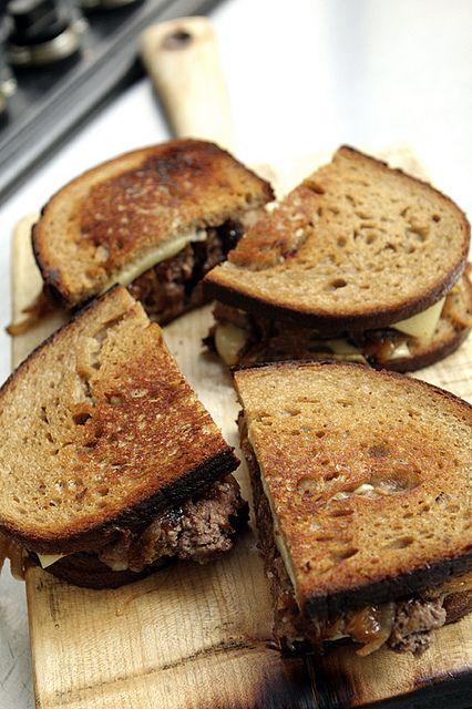 Patty Melt recipe | davidlebovitz.com