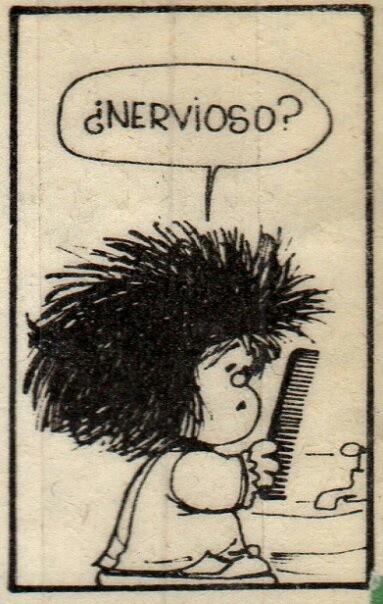 jajajajaja, como cualquiera que se despierta en la mañana con ese pelo!