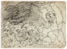 James Ensor. Masks and Grotesque Figures, 1885. Olivia Shaler Swan Memorial Collection, 1950.1512  © 2014 Artists Rights Society (ARS), New York / SABAM, Brussels