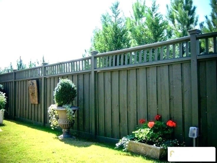 yard fences cost horizontal fence cost horizontal fence ...