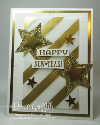 classy new year cards