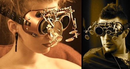 Steampunk Goggles  #tcarter2012, click on this image or check my boards for more great pins to share.